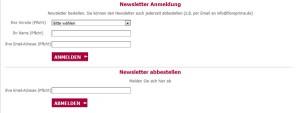 123Blumenversand.de Deutschland Newsletter