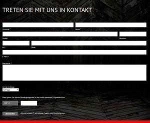 AA Kaminwelt.de Deutschland Kontaktformular
