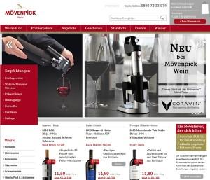 Moevenpick Wein.de Deutschland