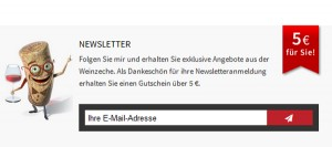 Weinzeche.de Deutschland Newsletter