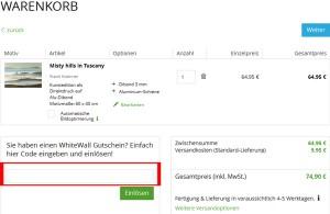Whitewall.com Deutschland Gutschein
