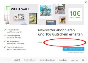 Whitewall.com Deutschland Newsletter